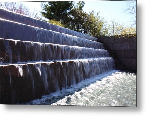 America Metal Print featuring the photograph Fdr Memorial - Washington Dc - 01134 by DC Photographer
