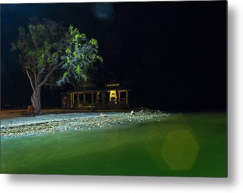 Guantanamo Bay Metal Print featuring the photograph Ferry Landing 20 by Christian Schroeder