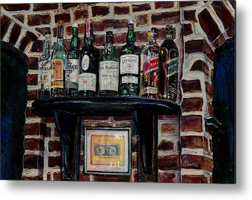 First Dollar Metal Print featuring the painting First Dollar by Debra Keirce