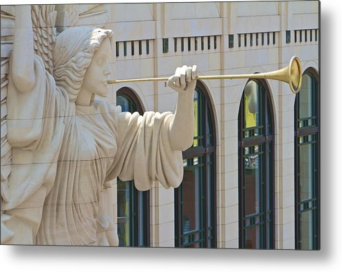 Fort Worth Metal Print featuring the photograph Fort Worth's Angel by John Babis