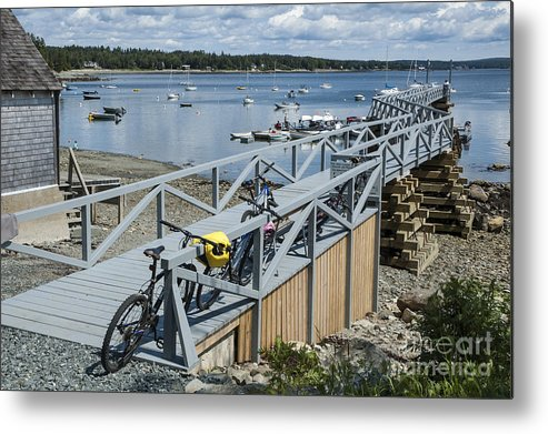 Bikes Metal Print featuring the photograph Friendly Cove by Ruth H Curtis