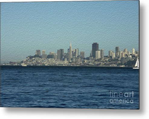 Sausalito Metal Print featuring the photograph From Sausalito by David Bearden