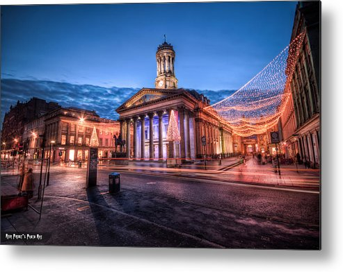 Goma Metal Print featuring the photograph Gallery Of Modern Art Glasgow Scotland by Anir Pandit