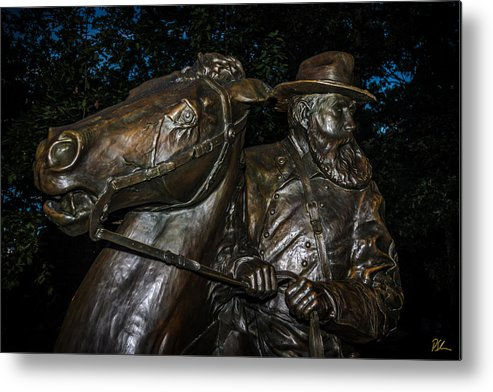 Battlefield Metal Print featuring the photograph General Longstreet by Pat Scanlon