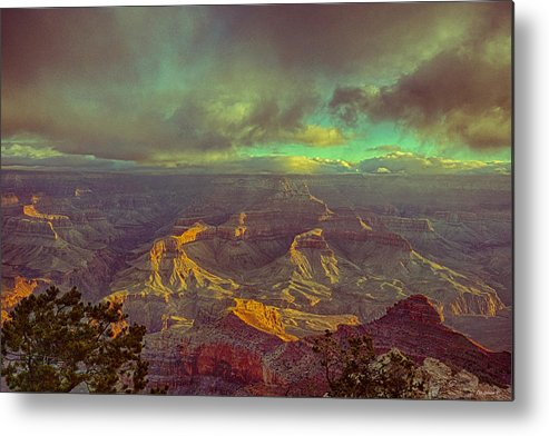 Grand Canyon Metal Print featuring the photograph Gentle Sunrise Over The Canyon by Lisa Spencer