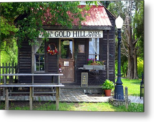 Gold Hill Metal Print featuring the photograph Gold Hill Post Office by Randy Edwards