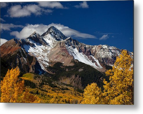Colorado Landscapes Metal Print featuring the photograph Golden Afternoon by Darren White