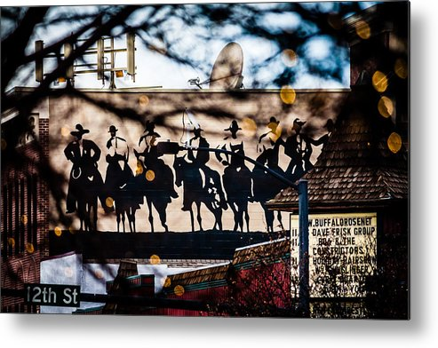 Colorado Metal Print featuring the photograph Golden Co by Karen Saunders