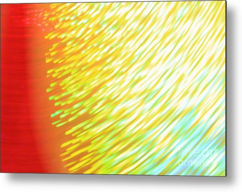Light Metal Print featuring the photograph Golden Red Colors by Hermanus A Alberts