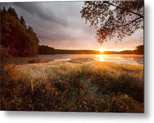 Sunrise Metal Print featuring the photograph Golden Sunrise by Jonathan Steele