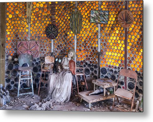 Grandma Metal Print featuring the photograph Grandma Prisbrey's Bottle Village In Simi Valley by Carol M Highsmith