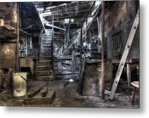 Grandmother's House Metal Print featuring the photograph Grandmother's House by Marco Oliveira