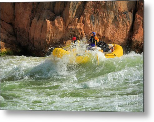America Metal Print featuring the photograph Granite Rapids by Inge Johnsson