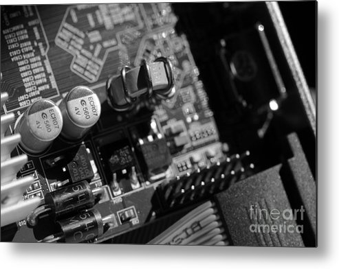 2r20 Metal Print featuring the photograph Graphic Card by Kenny Glotfelty