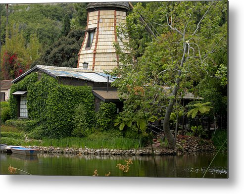 Green House Metal Print featuring the photograph Green House by Ivete Basso Photography