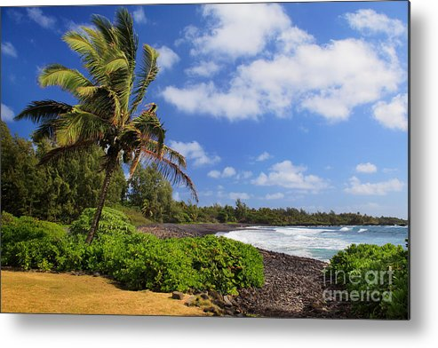 America Metal Print featuring the photograph Hana Beach by Inge Johnsson