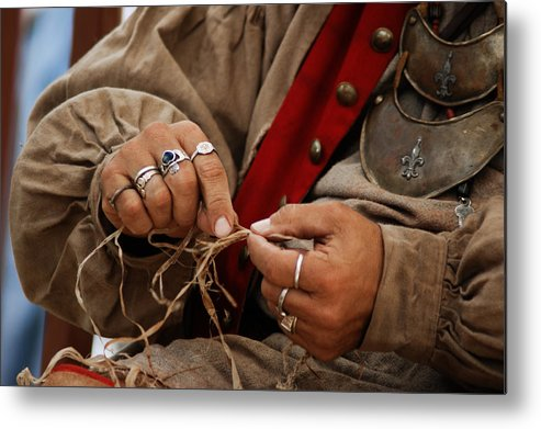 Hands Metal Print featuring the photograph Hands by Off The Beaten Path Photography - Andrew Alexander
