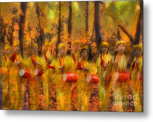 Autumn Metal Print featuring the photograph Heartbeat Of Autumn by Jeff Breiman