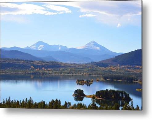 Rocky Mountains Metal Print featuring the photograph Heaven by Jimi Bush
