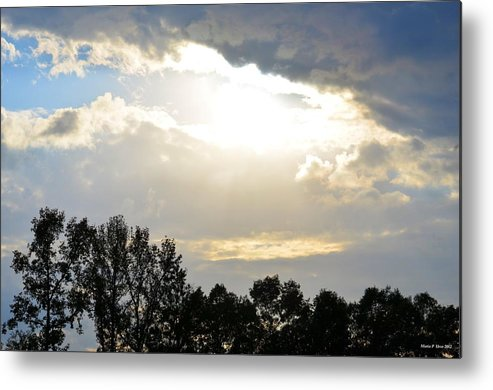 Heaven's Light Metal Print featuring the photograph Heaven's Light by Maria Urso