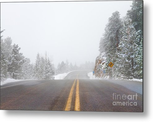 Highway Metal Print featuring the photograph Highway Into Heaven by James BO Insogna