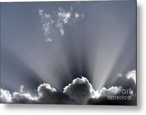 Holy Metal Print featuring the photograph Holy Light by Colin Woods