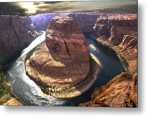 Arizona Metal Print featuring the photograph Horseshoe Bend by Stan Rose