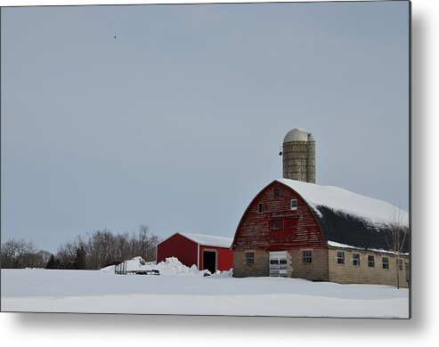New Jersey Metal Print featuring the photograph Hunterdon County Landscape by Steven Richman