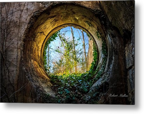 Mill Metal Print featuring the photograph Illuminated Ivy by Robert Mullen