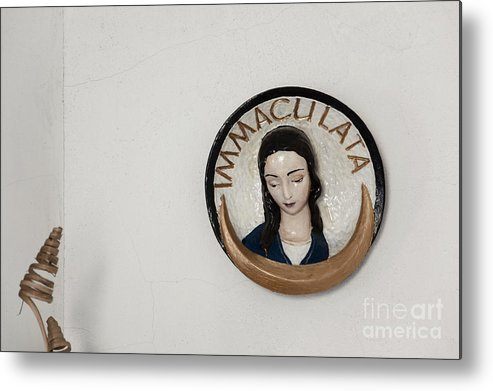 Virgin Mary Metal Print featuring the photograph Immaculata by Agnieszka Kubica