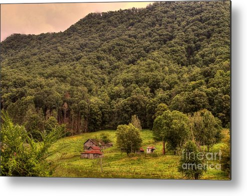 South Metal Print featuring the photograph In The Hills Of Virginia by Robert Pearson