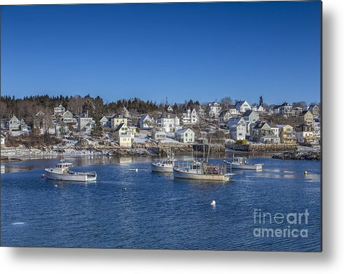 Stonington Metal Print featuring the photograph In The Morning Light by Evelina Kremsdorf
