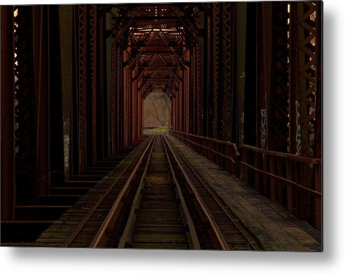 Train Metal Print featuring the photograph Inside by Andrea Galiffi