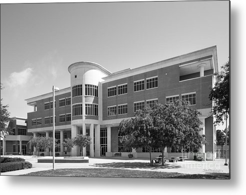 Jackson State University Library Metal Print featuring the photograph Jackson State University H. T. Sampson Library by University Icons