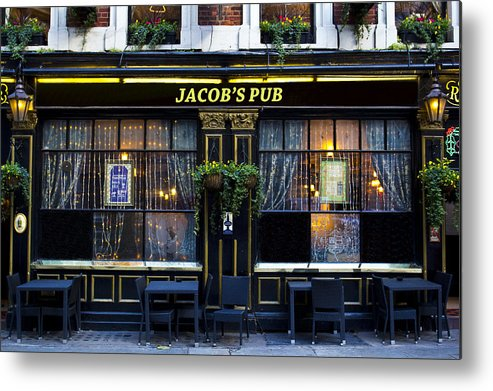 Jacob Metal Print featuring the photograph Jacob's Pub by David Pyatt