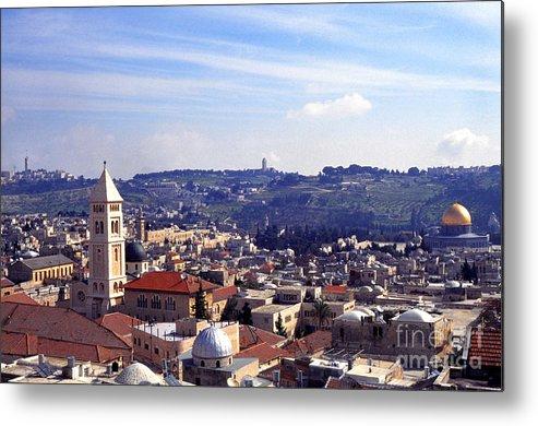 Israel Metal Print featuring the photograph Jerusalem by Thomas R Fletcher