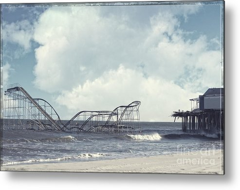 Sandy Metal Print featuring the photograph Jet Star by Amanda Stevens