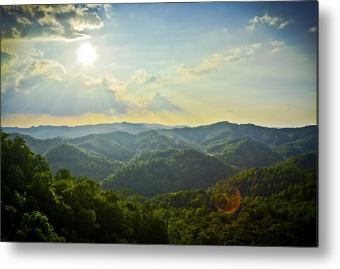 Blue Ridge Mountains Metal Print featuring the photograph Jewel Of The Blue Ridge by Ryan Phillips