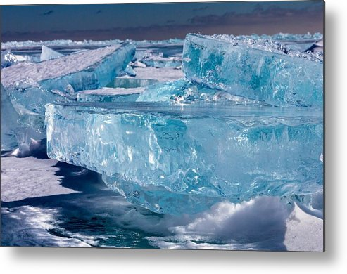 Lake Superior Metal Print featuring the photograph Jewels Of Superior by Mary Amerman