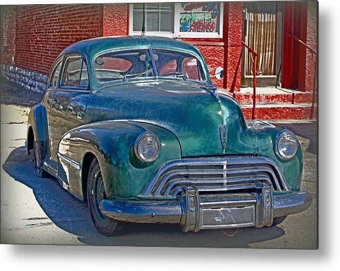 Car Metal Print featuring the photograph Just A Flat by Lynn Sprowl