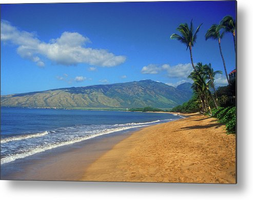 Hawaii Metal Print featuring the photograph Kamole Beach Kihei Maui Hawaii by John Burk