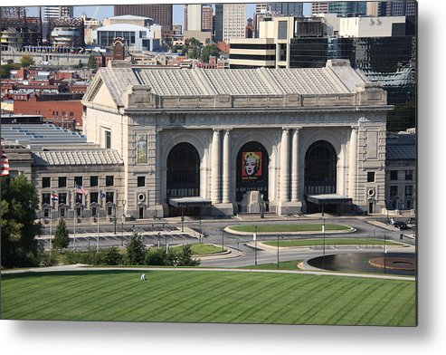 America Metal Print featuring the photograph Kansas City - Union Station by Frank Romeo