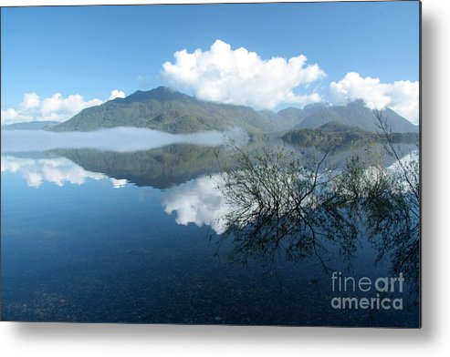 Lake Metal Print featuring the photograph Kennedy Lake by Frank Townsley