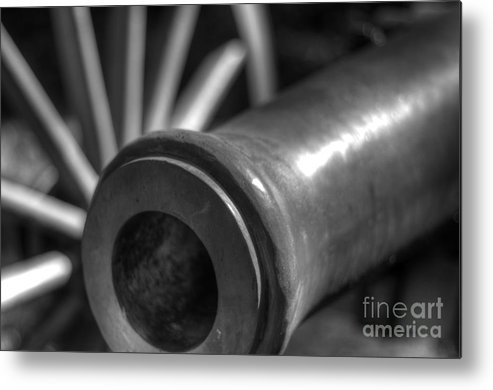 Cannon Metal Print featuring the photograph Kennesaw Cannon 1 by Jonathan Harper