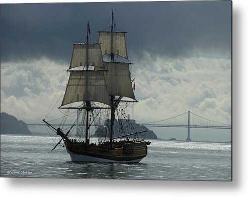 Tall Ship Metal Print featuring the photograph Lady Washington by Sabine Stetson