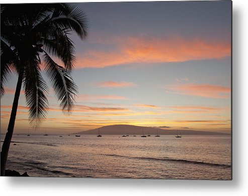 Beauty Metal Print featuring the photograph Lahaina by David Olsen