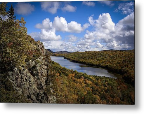 Lake Of The Clouds Metal Print featuring the photograph Lake Of The Clouds by RiverNorth Photography