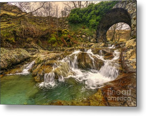 Coniston Metal Print featuring the photograph Lakeland Stream by Rob Hawkins