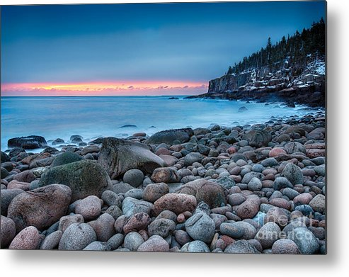 Acadia Metal Print featuring the photograph Land Of Sunrise by Evelina Kremsdorf
