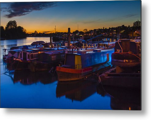 Matthew Metal Print featuring the photograph Last Rays Of Light by Matthew Bruce